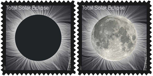 Solar Elipse Stamps