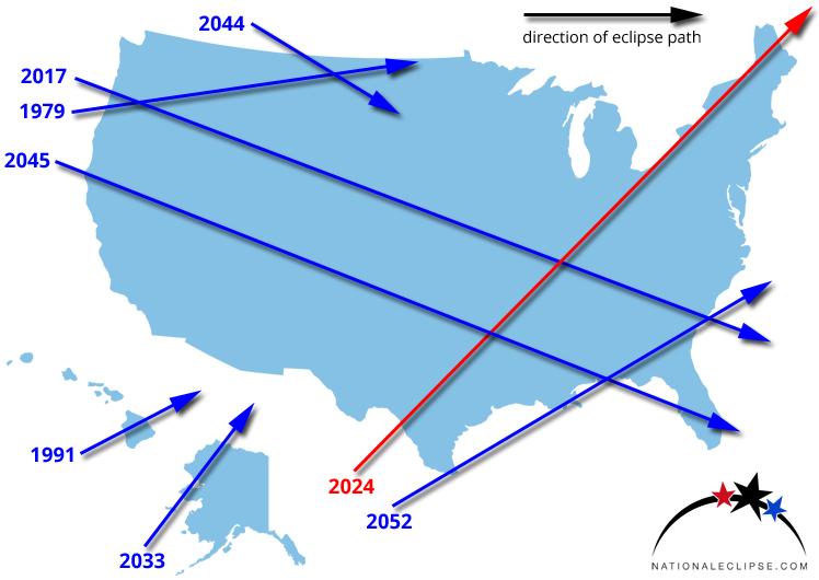 National Eclipse April 8 2024 Total Solar Eclipse